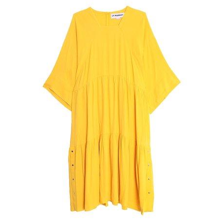 LF Markey Richard Dress - Yellow
