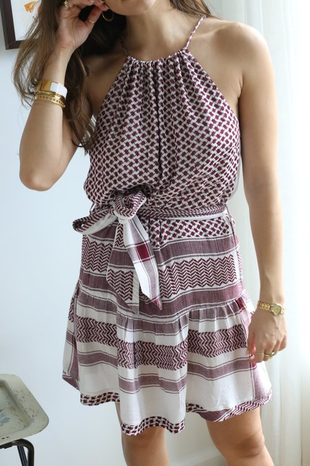 CECILIE copenhagen Strappy Dress with Belt