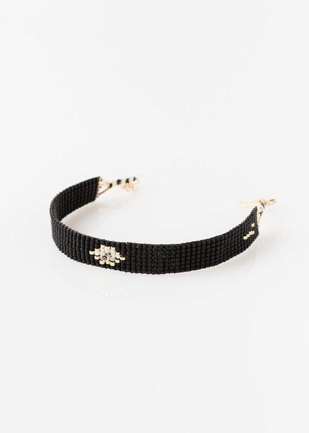 ILD Drift Woven Pattern Bracelet