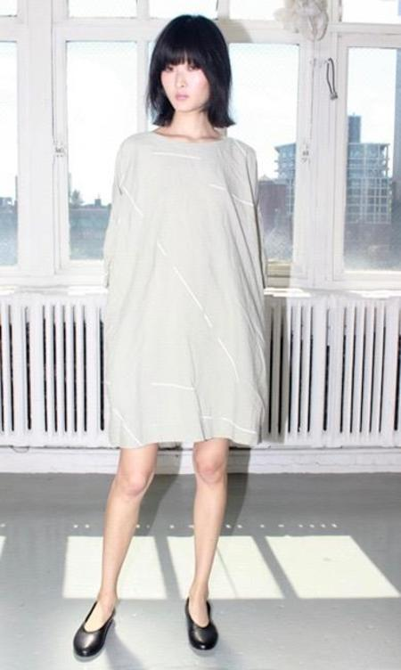 Uzi NYC Now Dress - Stone Beams