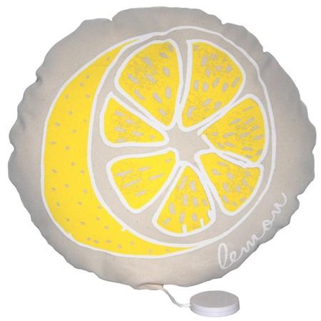 Kid's Annabel Kern Lemon Musical Cushion