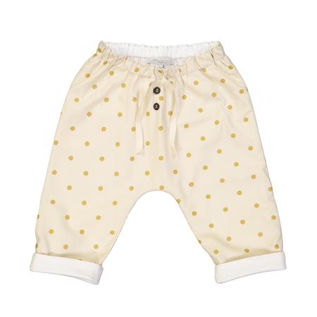 Kid's Petite Lucette Axel Pants - Golden Dots