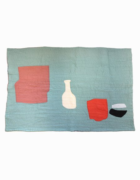 Cold Picnic Objects from Home Quilt