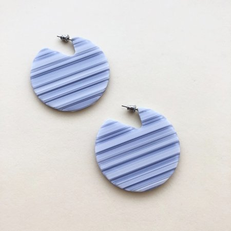 Machete Clare Earrings in Riviera Stripe