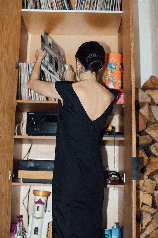 Toit Volant Zoe Dress - Black