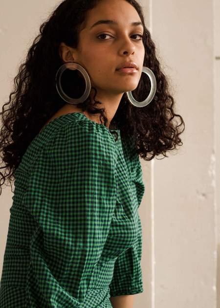 Zelda Murray Perspex & Bead Hoop Earrings | Pre-order