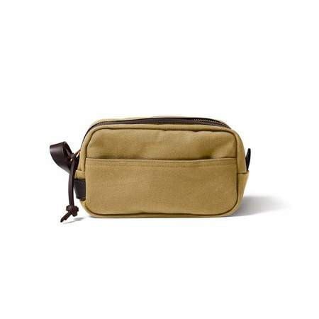 Filson Rugged Twill Travel Kit - Tan