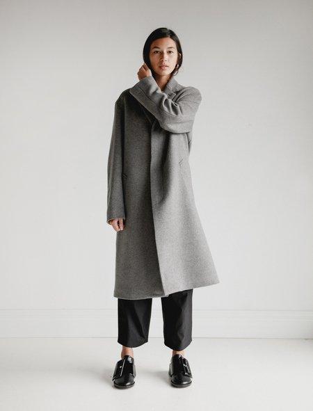 Mackintosh Waterproof Tailored Collar Coat - Grey