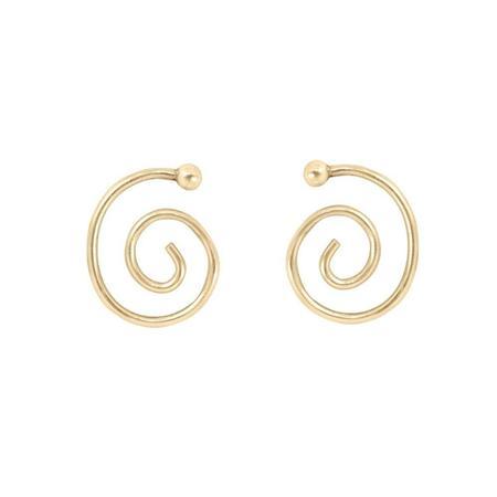 Young Frankk Spiral Earrings