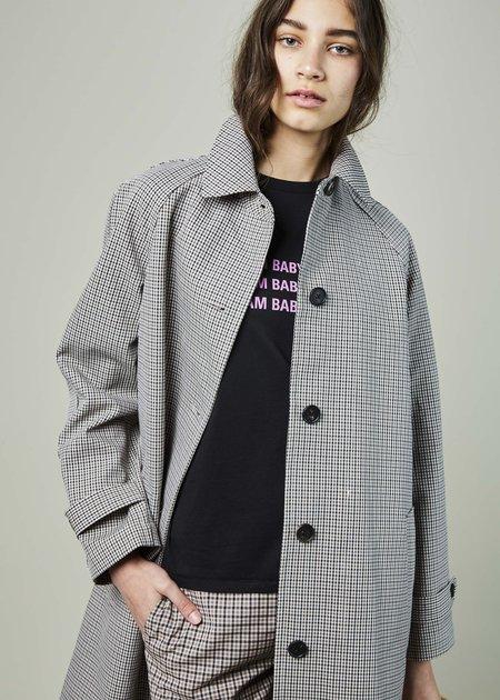 6397 Check Raincoat