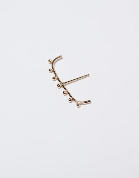 A.M Thorne Granule Staple Earring