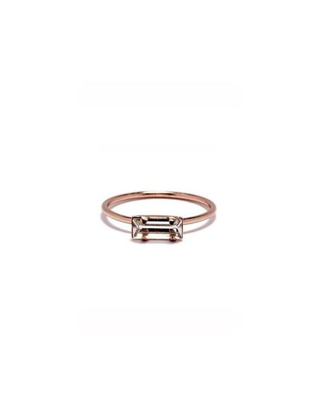 Bing Bang NYC Tiny Baguettte Ring