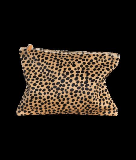 Ceri Hoover Cheetah Waller Clutch