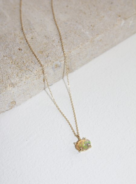 Olivia Kane Classic Opal Necklace