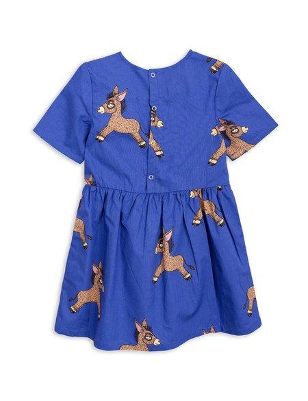 KIDS Mini Rodini Donkey Print Woven Dress