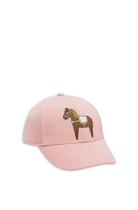 Kids Mini Rodini Embroidered Horse Cap