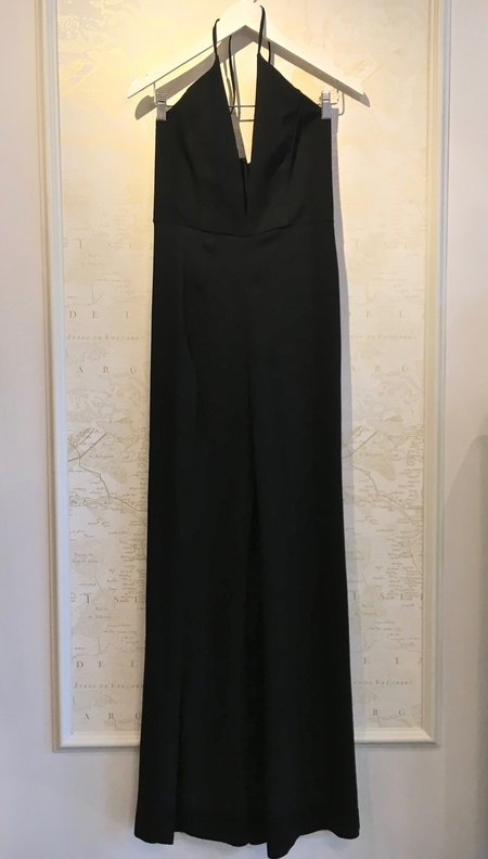 Michelle Mason Palazzo Jumpsuit with Slit