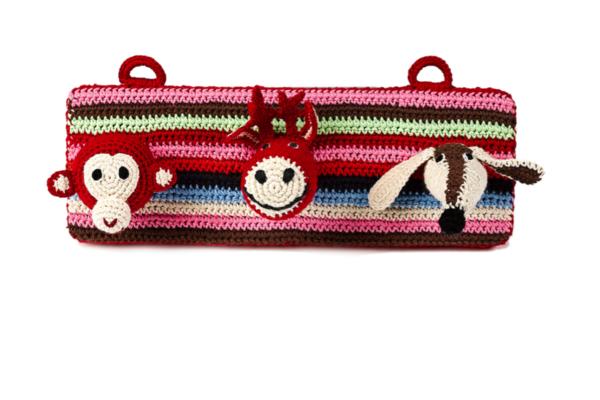 Kid's Anne-Claire Petit Coat Rack Red- Dodo Les Bobos