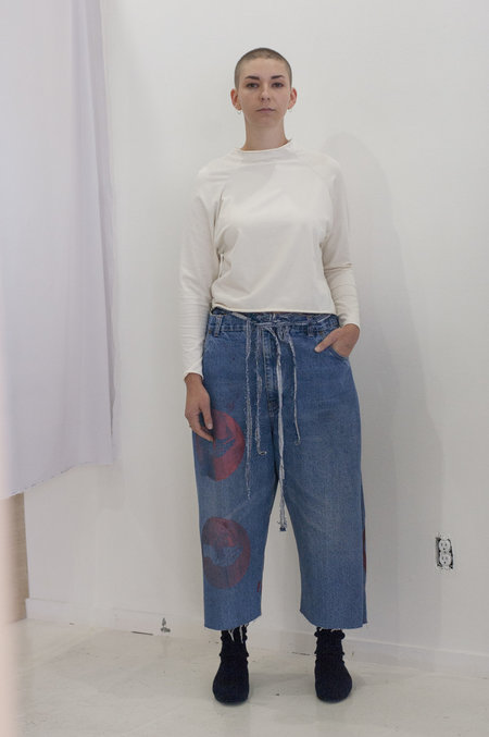 Steph Linn Denim Wrap Pant