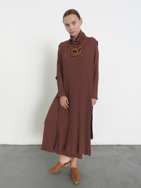 Wolcott Takemoto Wayne Dicky Dress - Clove