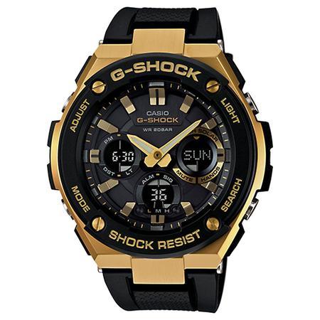 G-SHOCK G-STEEL GSTS100G-1A BLACK / GOLD