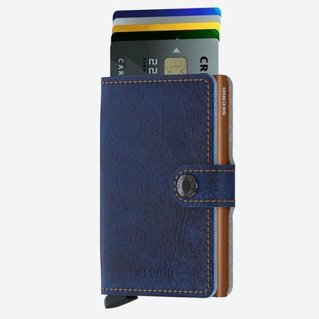 Secrid Mini Wallet - Indigo 5 Leather