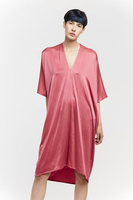 Miranda Bennett Ed. VIII Muse Dress - Silk Charmeuse in Madrid