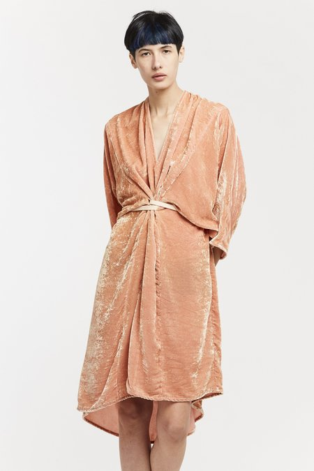 Miranda Bennett O'Keeffe Dress - Velvet in Anais