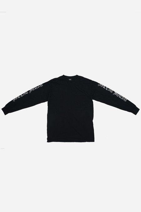 Silent Sound Cotton Sleeves T-shirt