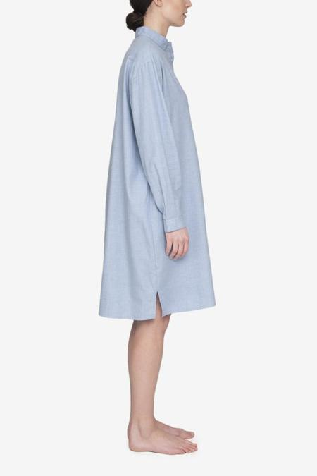 The Sleep Shirt Long Cashmarello Sleep Shirt - Blue