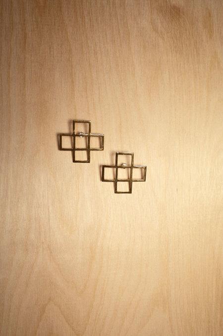 Alynne Lavigne Crosscut Earrings