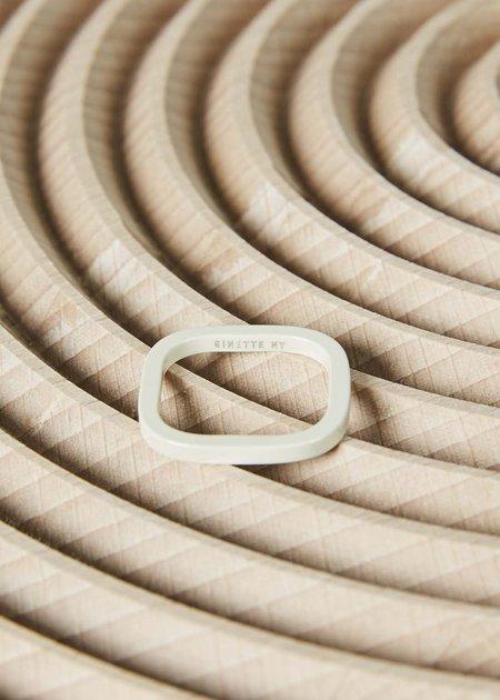 Ginette NY Ivory Ceramic TV Ring