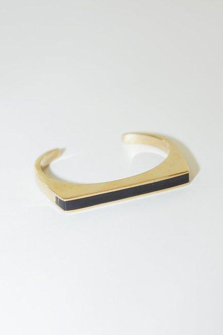 Soko Horn Line Cuff in Black
