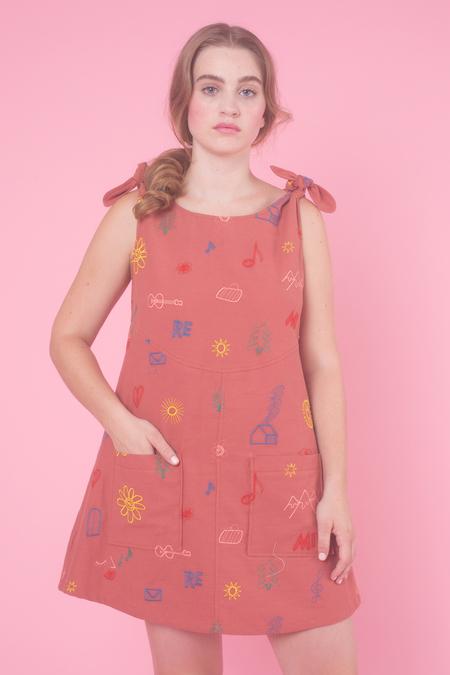 Samantha Pleet Bell Dress in Do Re Mi