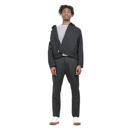 Norse Projects Thomas Wool Pants - Charcoal Melange