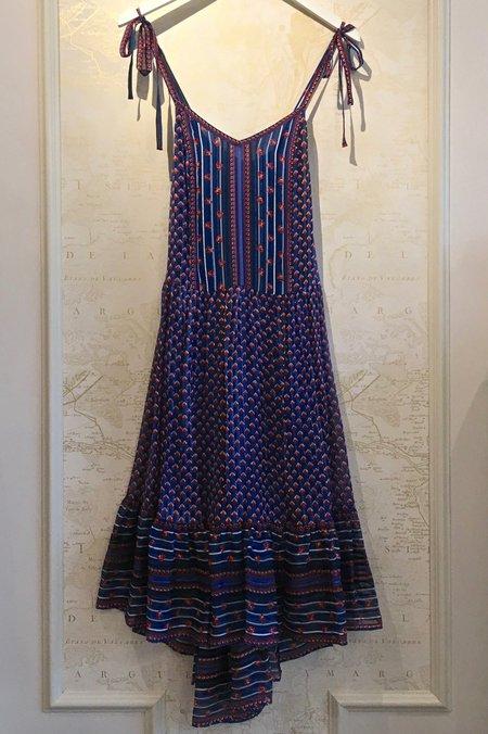 Ulla Johnson Talin Silk Print Dress