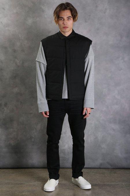 Helmut Lang Puffer Shirt Vest