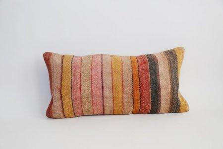 Byron & Blue valentine's day Farrah Stripe Lumbar Turkish Pillow