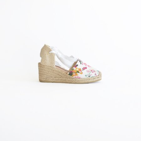 Vamp Shoes Valencian White