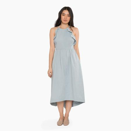 Arum Astrid Dress - Muted Blue