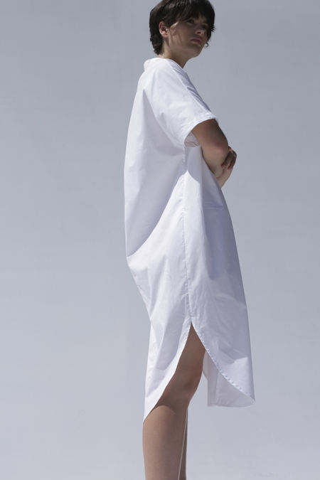 Shaina Mote Calla Dress in Salt