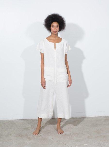Ilana Kohn Hannah Coverall - White Linen