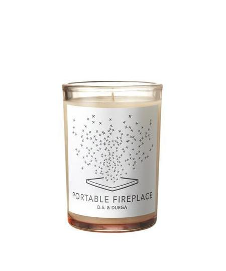 D.S. & Durga DS & DURGA PORTABLE FIREPLACE CANDLE
