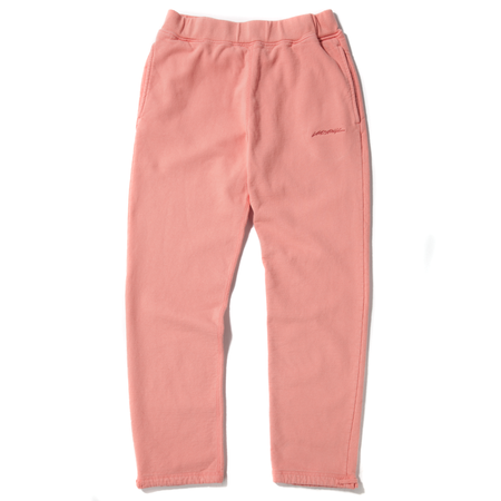 LIVESTOCK FLEECE 400 GSM SWEATPANTS - CORAL
