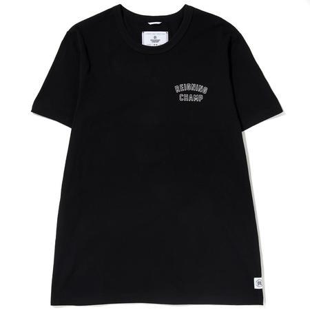REIGNING CHAMP VARSITY T-SHIRT / BLACK