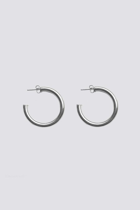 Roucha Sterling Silver Hoops