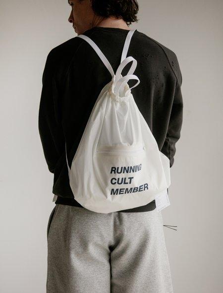Satisfy The Gym Bag - White