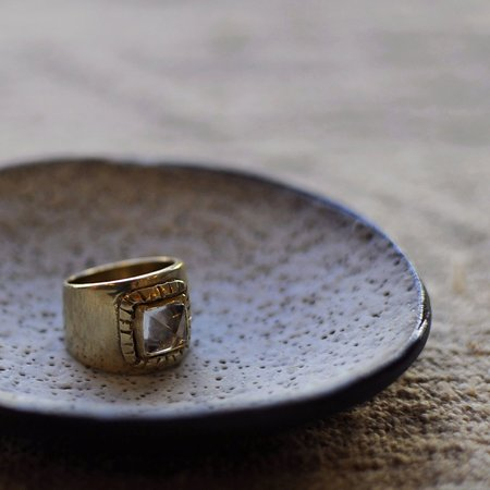 Arcos Notos Ring - Brass