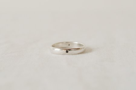 M. Hisae Matter Ring - Sterling Silver