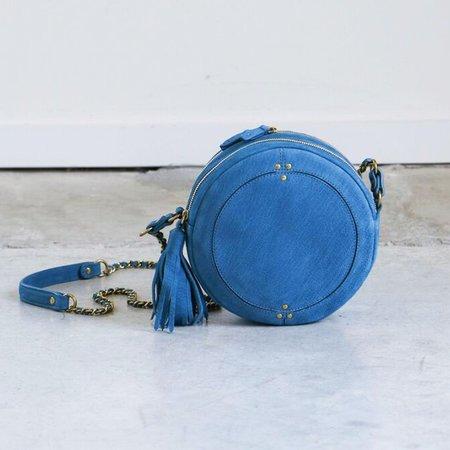 Jerome Dreyfuss Remi Bag in Petrole Goatskin